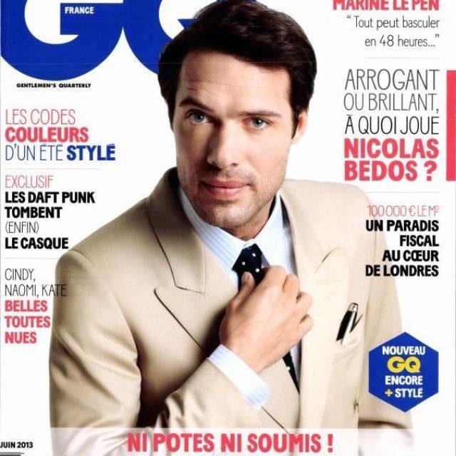 Nicolas Bedos chroniqueur pour le magazine Elle