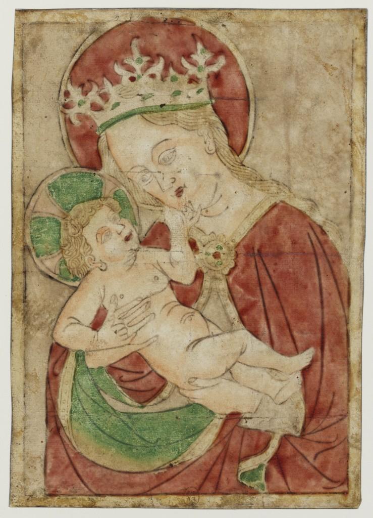 Les origines de l'estampe en Europe du Nord 1400-1470, dans les trésors du Louvre