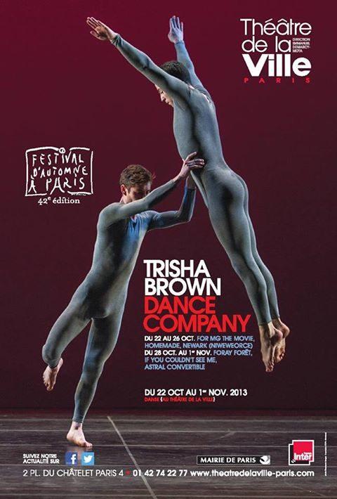 Dans le cœur de la géométrie de Trisha Brown au Festival d'Automne