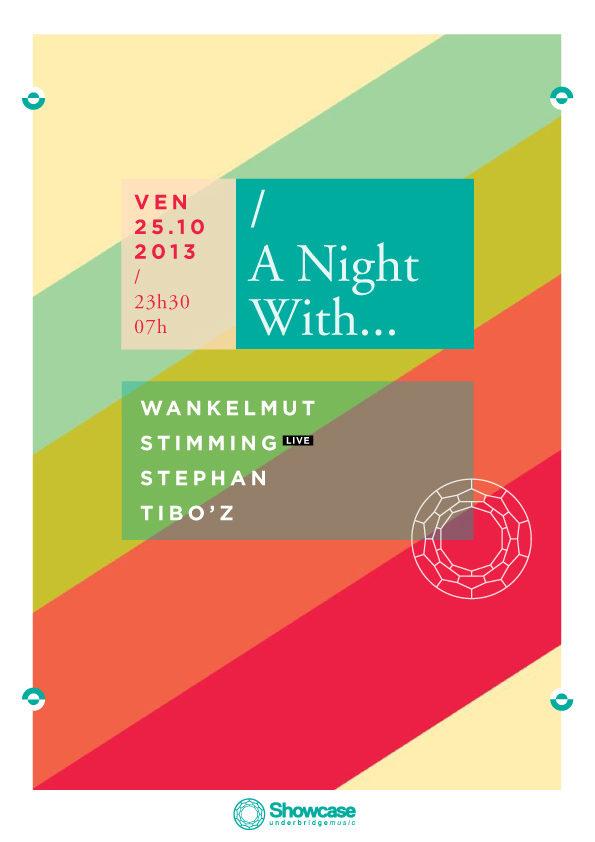 Gagnez 10×2 places pour la soirée «A Night With..» au Showcase le 25.10