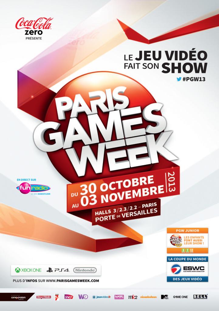 [Annonce] Paris Games Week : le jeu vidéo fait son show à Paris