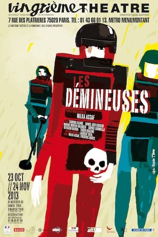 Gagnez 4×2 places pour la pièce «Les Démineuses» au Vingtième Théâtre le 26 octobre