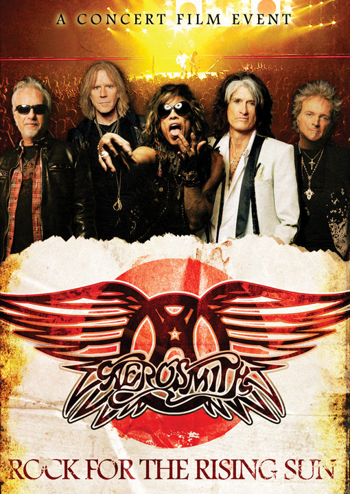 [DVD] « Rock for the Rising Sun » d'Aerosmith