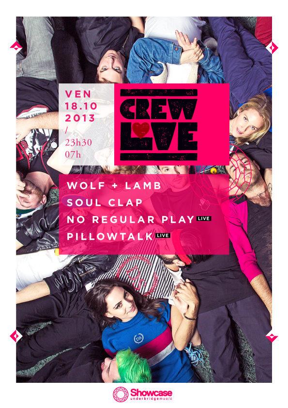 Gagnez 5 places pour la soirée «Crew Love» au Showcase le 18.10