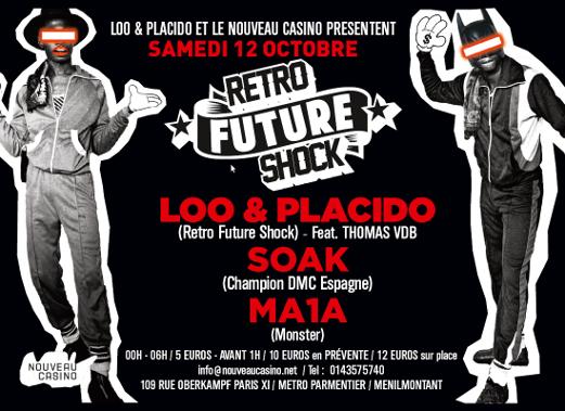 Gagnez 3×2 places pour la soirée «Retro Futur Shock» au Nouveau Casino le 12.10