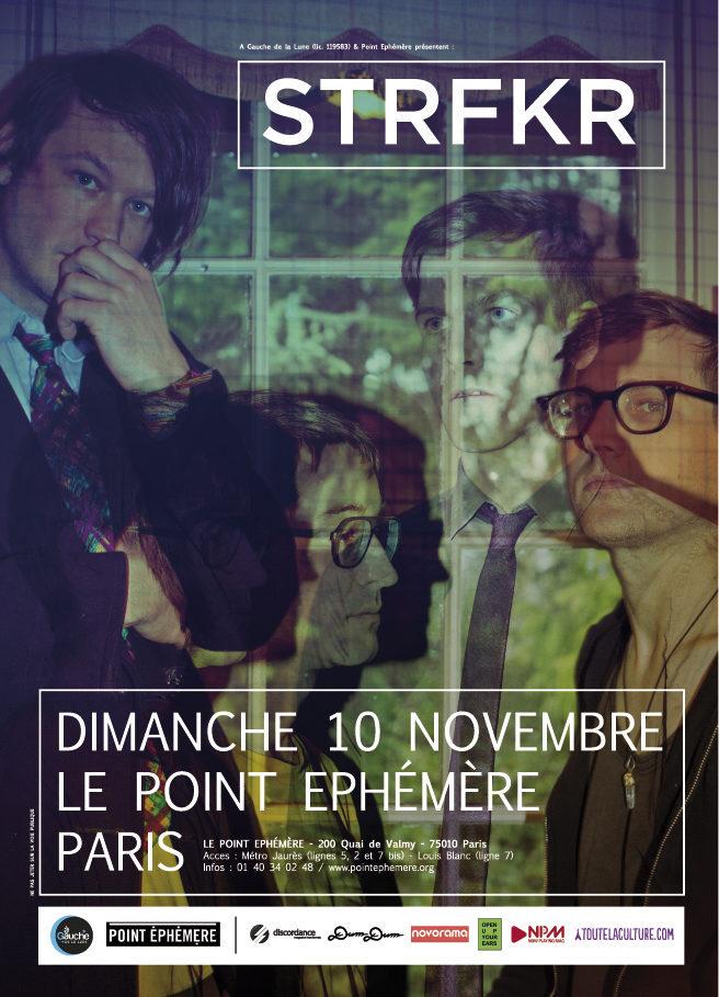Gagnez 2 places pour le concert de STRFKR au Point Éphémère le 10.11