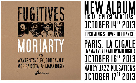 [Live report] Les Moriarty présentent leur nouvel album, fugitive, à la Maison de la Poésie