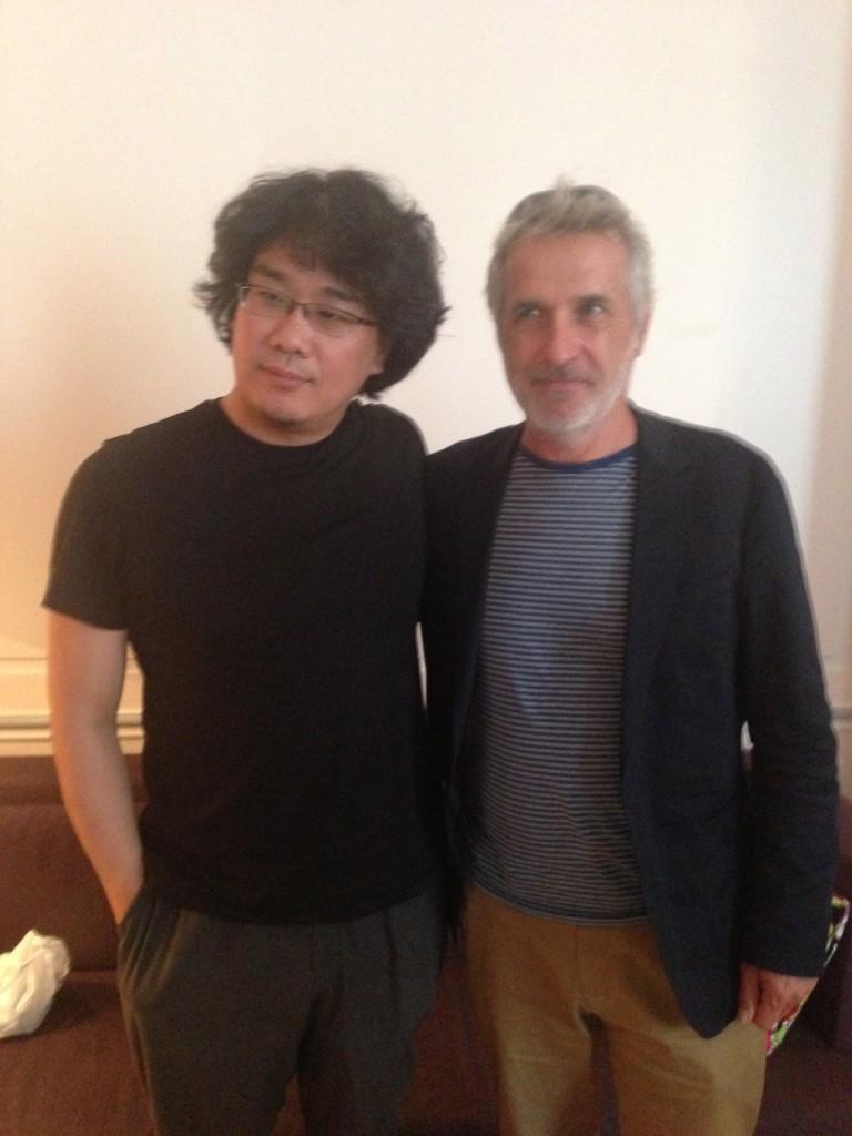 [Rencontre] Bong Joon Ho et Jean-Marc Rochette nous parlent du film « Snowpiercer, le Transperceneige »