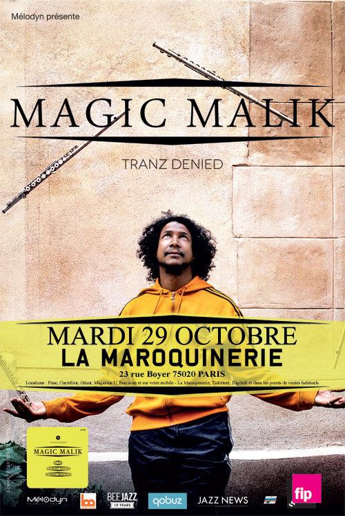 Gagnez 2×2 places pour le concert de Malik Malik à la Maroquinerie le 29.10