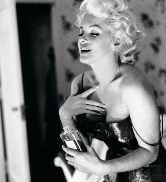 Marylin Monroe : nouvelle égérie de Chanel N°5