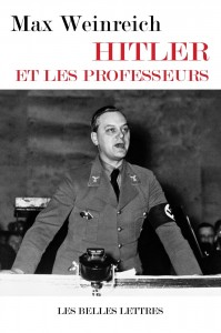 Max Weinreich, Hitler et les professeurs