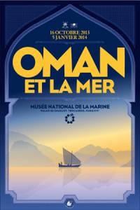 Oman et la mer affiche