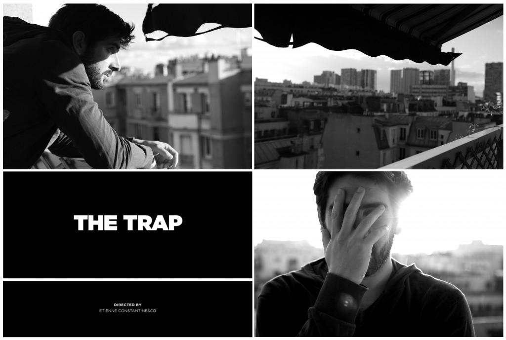 The Trap, Etienne Constantinesco produit un clip en 3 jours et 3 actes