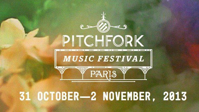 Programmation du Festival Pitchfork 2013