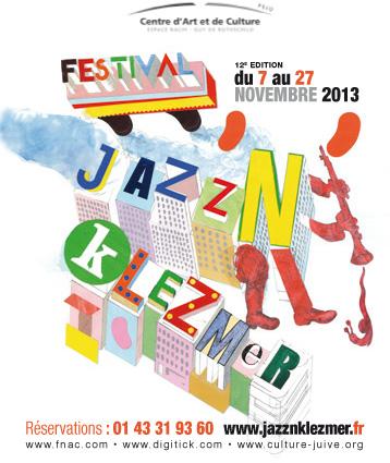 Gagnez 2x 2 places pour le festival Jazz'N'Klezmer le 07.11