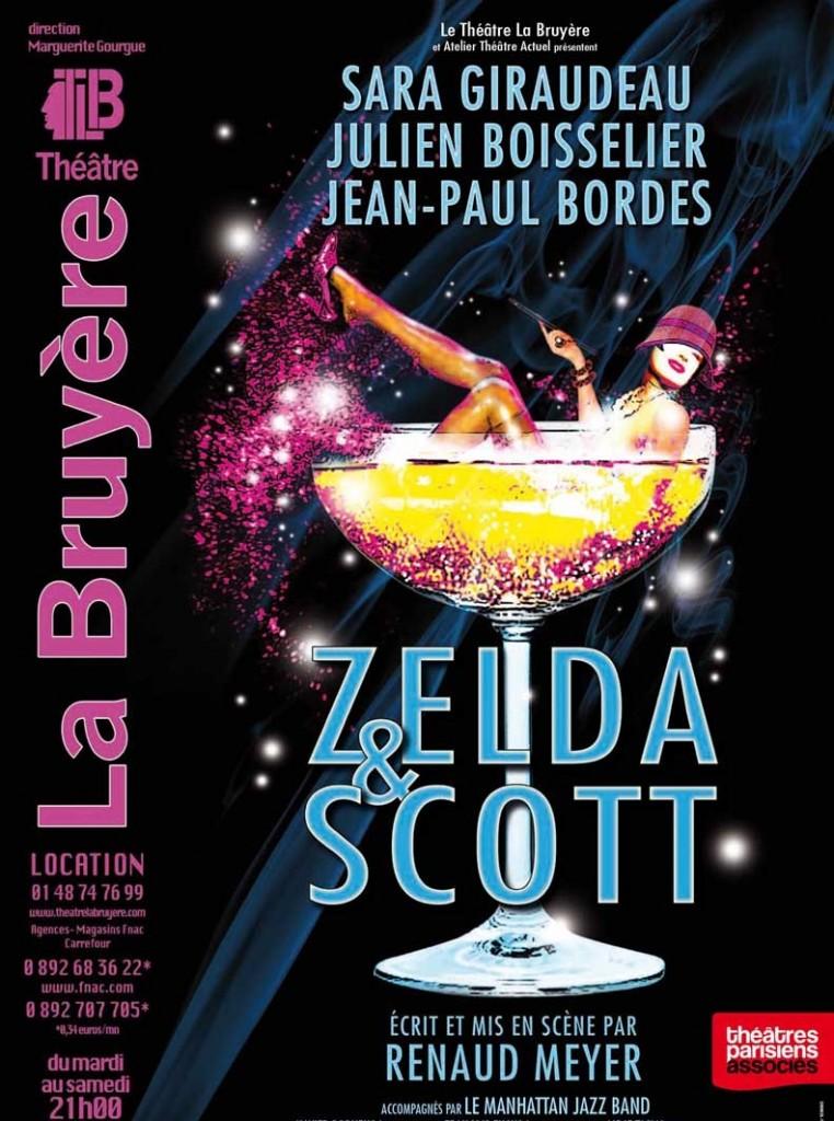 «Zelda et Scott» au Théâtre La Bruyère à Paris: Sara Giraudeau au sommet de son art