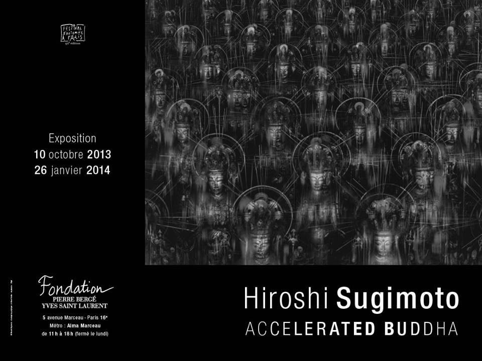 Hiroshi Sugimoto donne un avant-goût de la fin d'une civilisation avec ses Accelerated Buddha chez Pierre Bergé