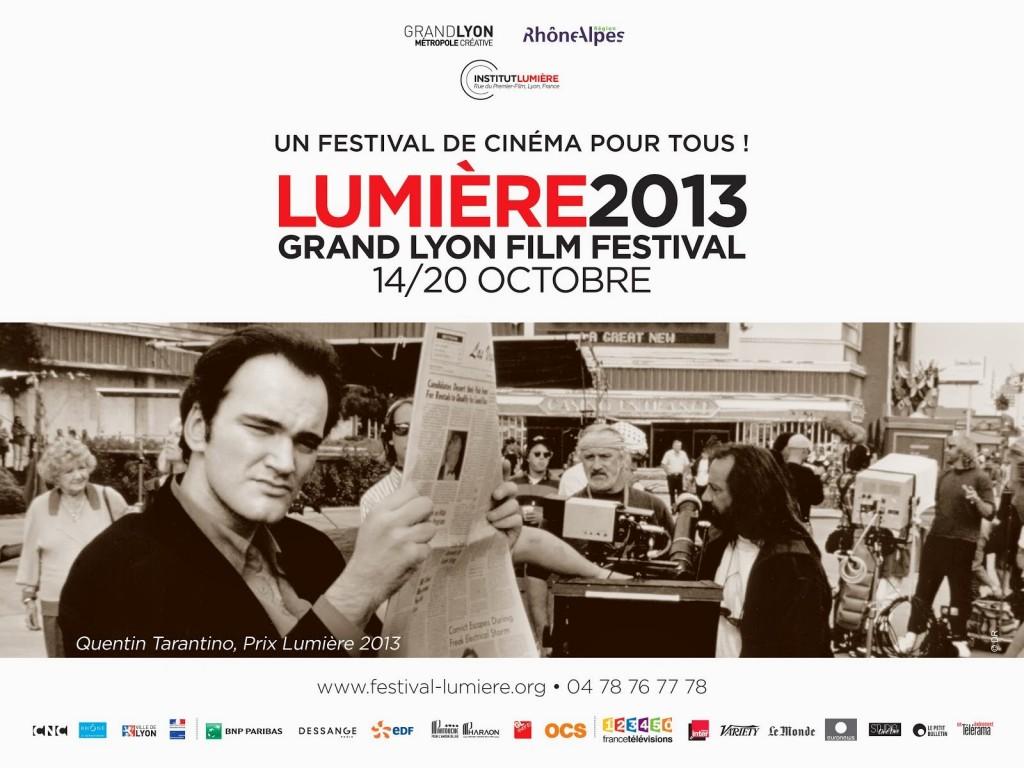 5ème édition du Festival Lumière de Lyon du 14 au 20 octobre : Tarantino, Bergman, Belmondo …