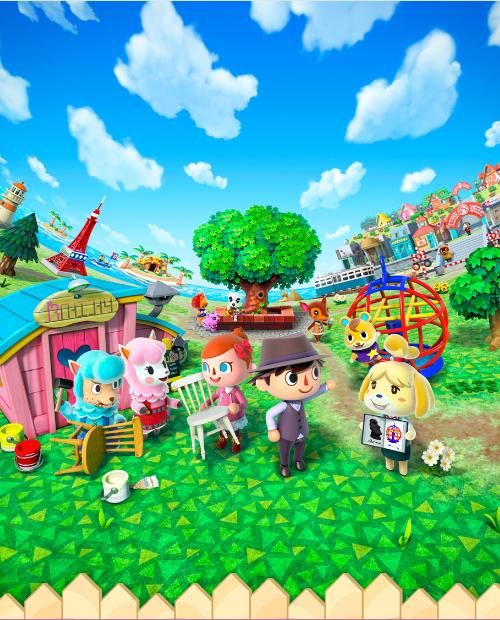 Exposition Animal crossing New leaf de Nintendo : une exposition où tout le monde peut exposer