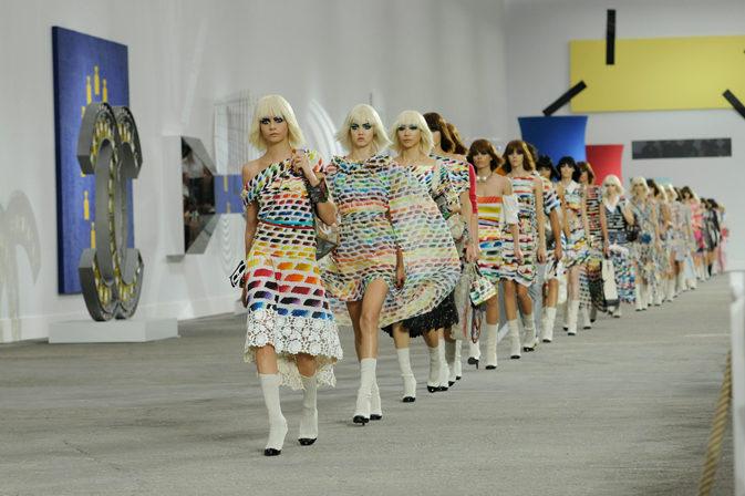 Fashion-week printemps-été 2014 : étymologie de la mode parisienne