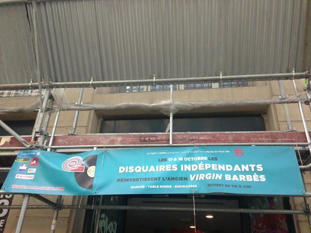 Les disquaires indépendants se montrent chez Virgin à l'occasion du MAMA festival