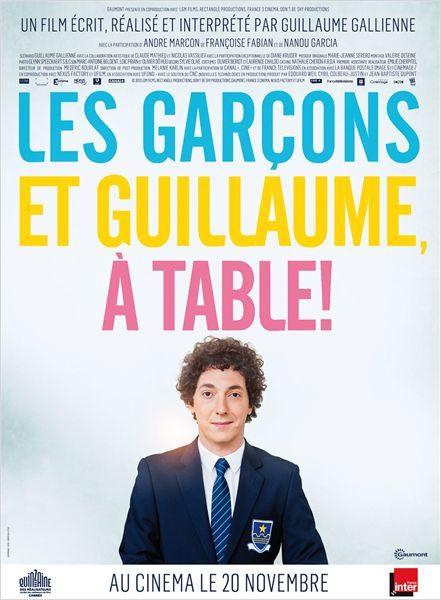 [Chronique] Les garçons et Guillaume, à table, Gallienne dit aux femmes qu'il les aime