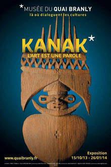 Kanak au musée du Quai Branly