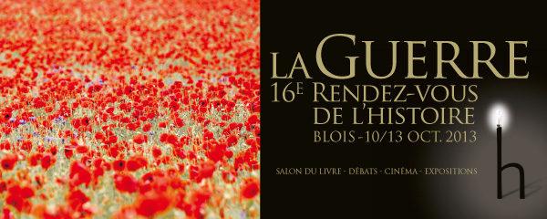Les 16ème rendez-vous de l'histoire ont commencé à Blois