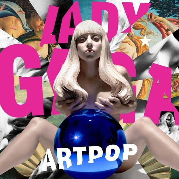 Jeff Koons réalise la pochette du nouvel album de Lady Gaga