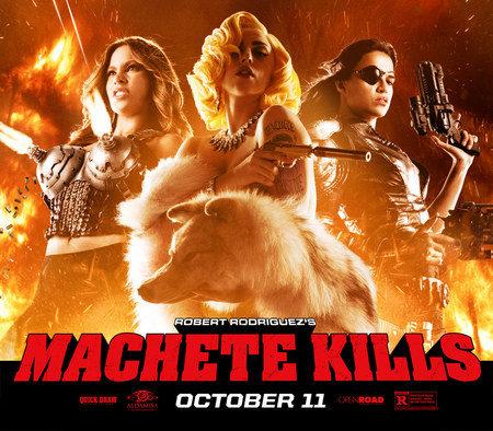 Lady Gaga dévoile «Aura», le titre du film Machete Kill