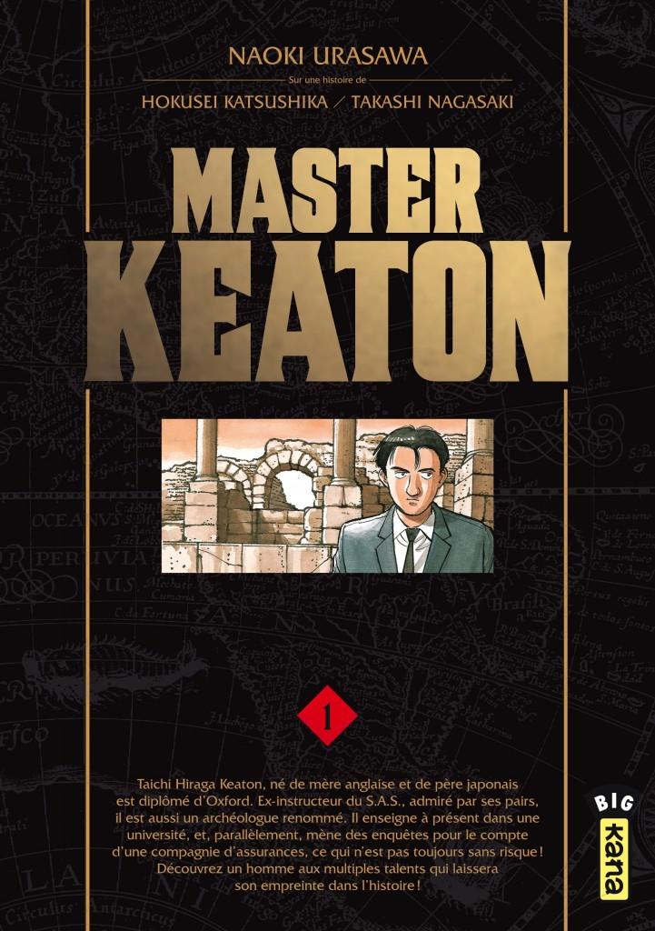 Master Keaton T1 : un gentleman aventurier