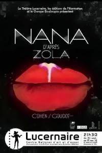 Nana au Lucernaire : une plongée dans les bas-fonds de l'univers de Zola