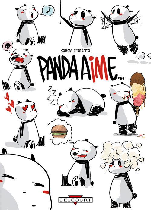 Panda aime, de Keison : la nouvelle mascotte kawaii et irrévérencieuse du net