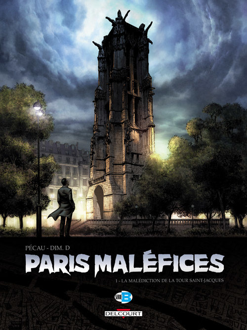Paris Maléfices T1 : La malédiction de la tour Saint-Jacques