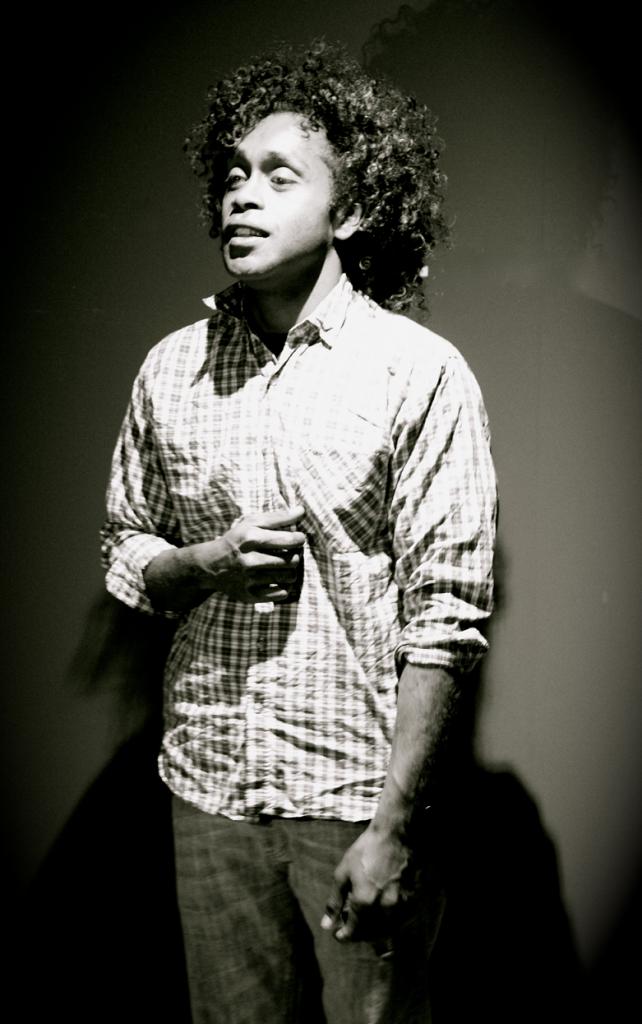 Rencontre avec le poète et slameur Kanak Paul Wamo