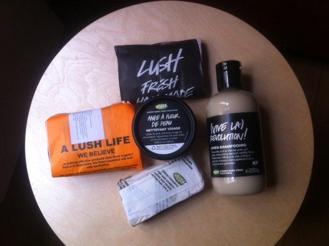 Lush : Des cosmétiques frais faits maison…Miam!