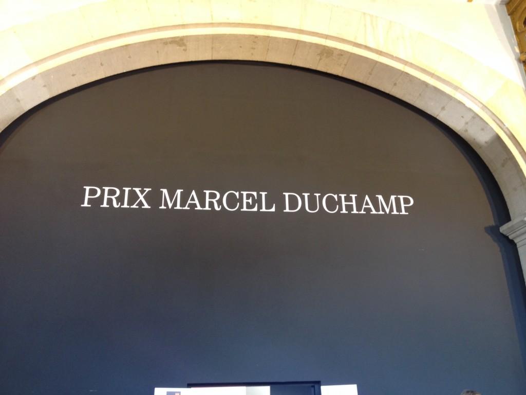 Le futur prix Marcel Duchamp est à la FIAC
