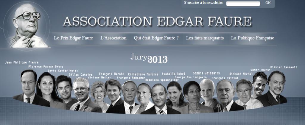 [Live report] Le Prix Edgar Faure à la biographie de Manuel Valls