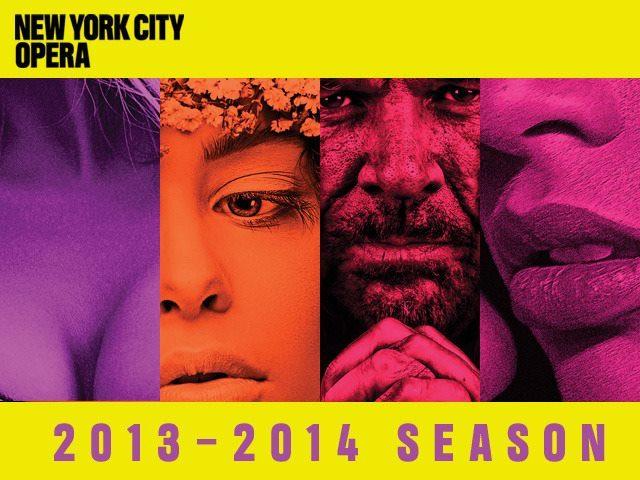 Rideau pour le New-York City Opera
