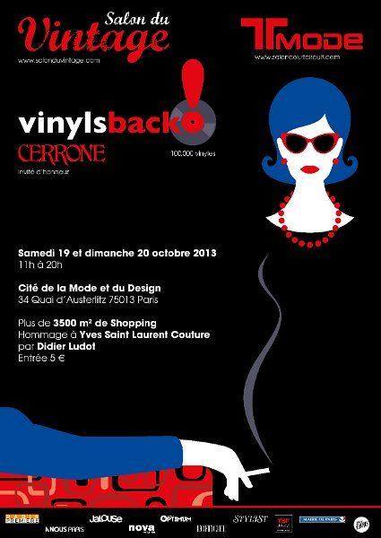 Le salon du Vintage ouvre ses portes à la Cité de la Mode, ce week-end