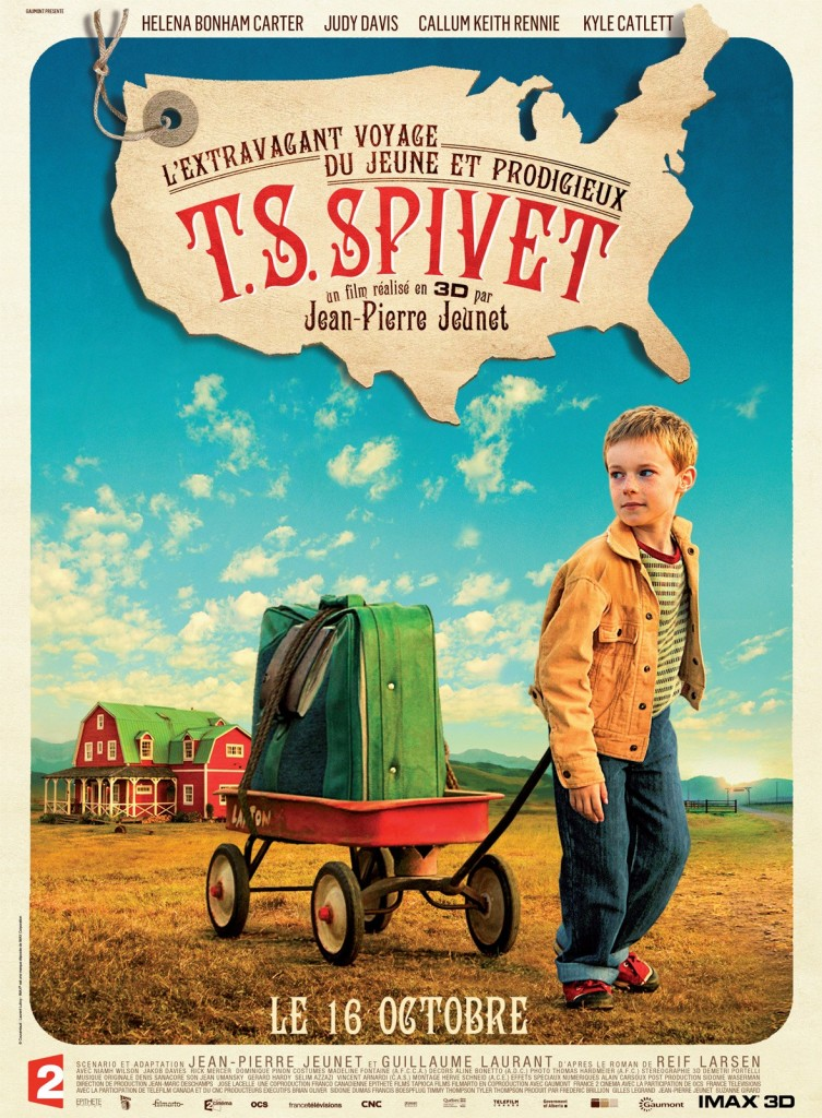 L'Extravagant Voyage du jeune et prodigieux T. S. Spivet : Jean-Pierre Jeunet nous fait retomber en enfance