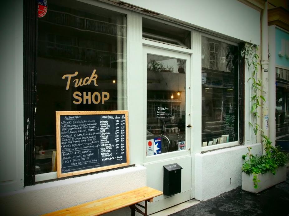 TUCK SHOP, La cuisine végétarienne aux accents australiens