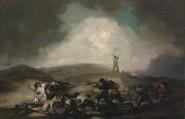 Scène de genre de la guerre civile espagnole Après 1808 Huile sur toile, 69 x 107,5 cm Musée des Beaux-Arts, Budapest © Photo: Csanád Szesztay