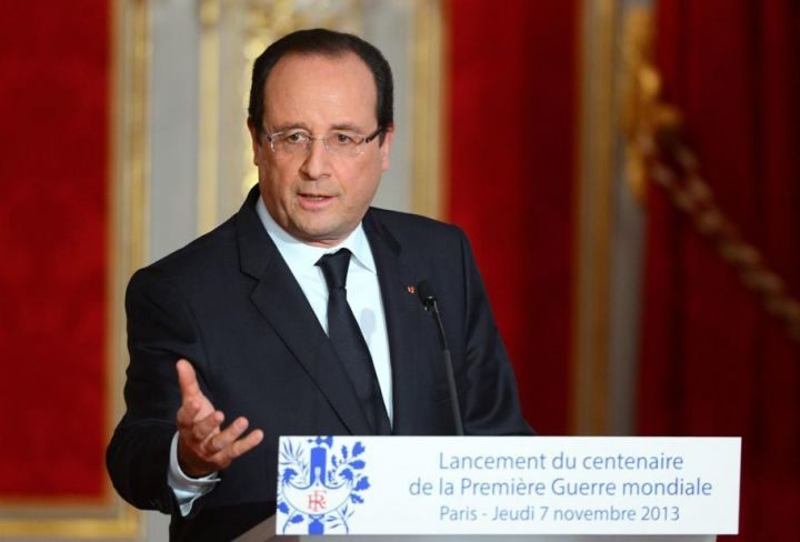 François Hollande lance les commémorations du centenaire de la Première guerre mondiale