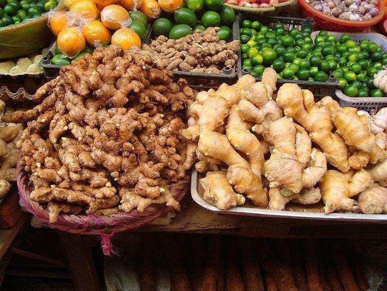 La recette de Claude : Canard à la poire et au gingembre sur lit de courgettes et carottes