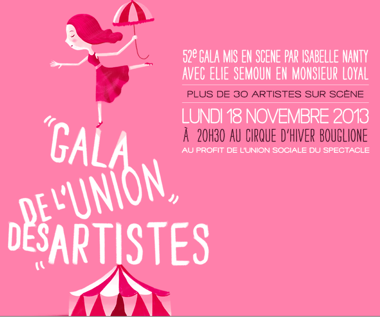 Nathalie Baye et Benoît Poelvoorde présenteront la 52 ème édition du Gala de l'Union des Artistes