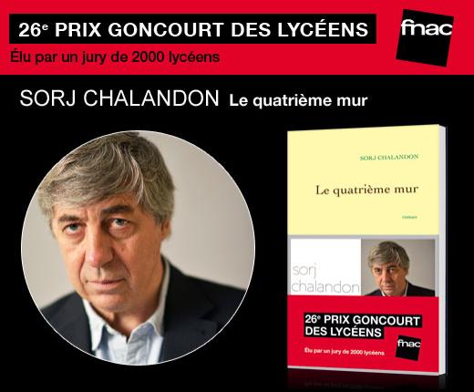 «Quatrième Mur» de Sorj Chalandon et «Plonger» de Christophe Ono-dit-Biot : les deux gagnants du Goncourt et du Renaudot des Lycéens