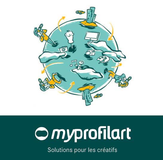 Myprofilart.com une bouffée d'air frais pour les artistes