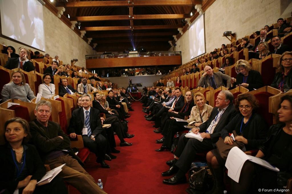 Forum d'Avignon 2013, la culture prend le pouvoir