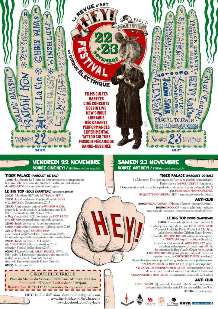 Le festival Hey ! Modern art & Pop Culture entre en piste